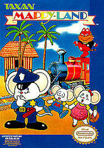 Mappy-Land (Nintendo Entertainment System) - $8.90