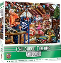 MasterPieces Childhood Dreams - Playtime in The Attic 1000-Piece Jigsaw ... - $10.71