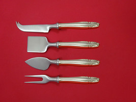 Stradivari by Wallace Sterling Silver Cheese Serving Set 4 Piece HHWS  Custom - $247.10