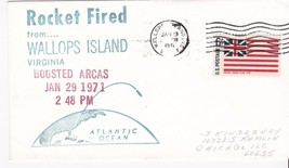 Boosted Arcas Rocket Fired From Wallops Island, Va 1/29/1971 - $1.78