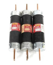 LOT OF 3 COOPER BUSSMANN FUSETRON FRS-R-150 DUAL-ELEMENT TIME-DELAY FUSES