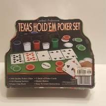 Cardinal's Professional Texas Hold 'Em Poker Set NEW SEALED. UPC 047754142501 - $23.00