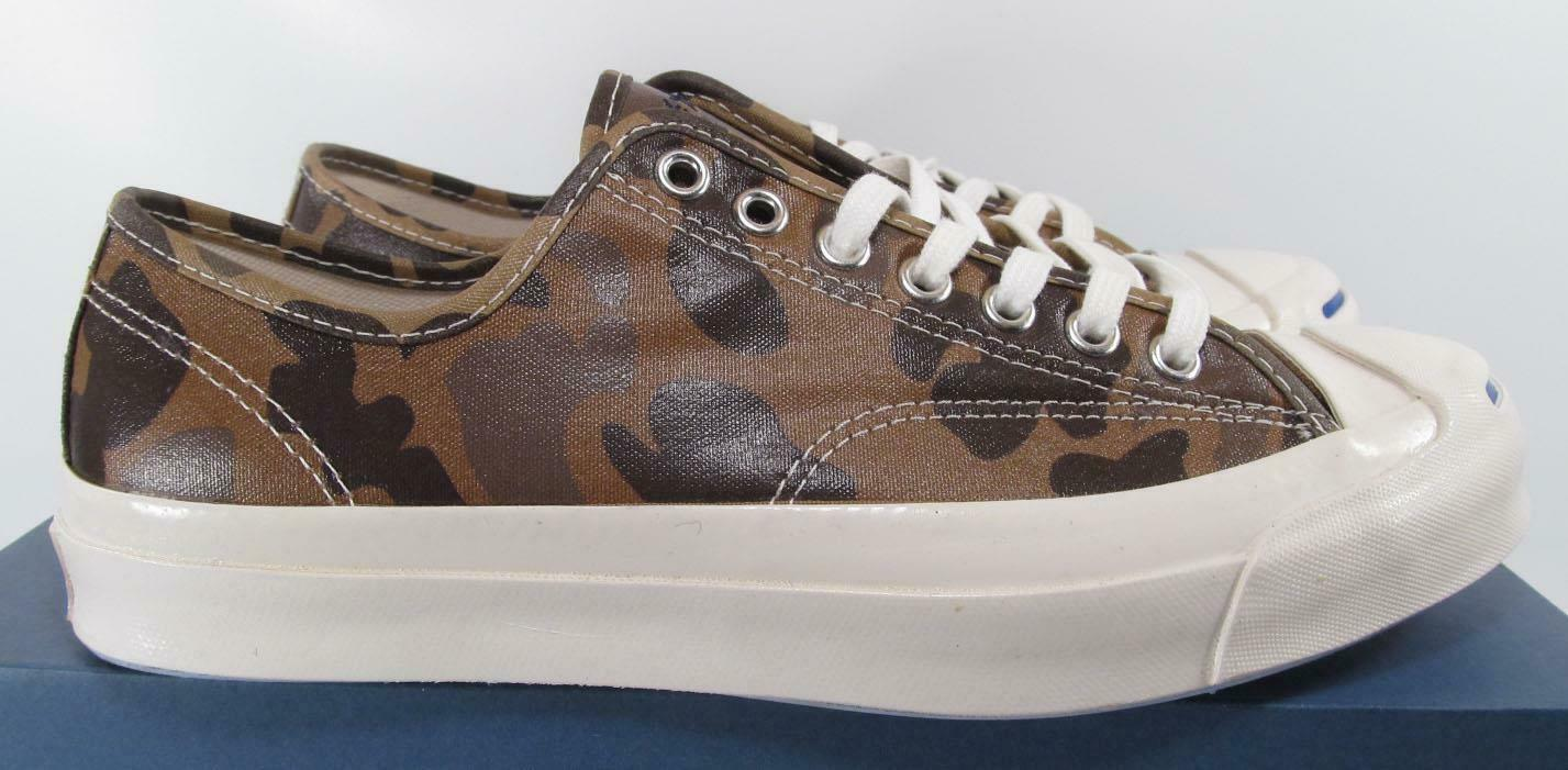 Converse Jack Purcell Signature Ox SAND DUNE CAMO Waxed Nylon 151457C (7 MEN) image 7