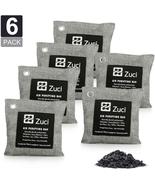 Pk 6 x 200 Grams Bamboo Charcoal Air Freshener Bags Basement & Litter Cl... - $13.68