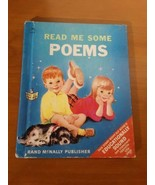 Start-Right Elf Book~ Read Me Some Poems 1968 - $4.46