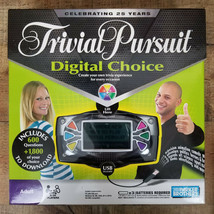 Trivial Pirsuit Digital Choice Family Game Electronic Parker Brothers 2008 NEW - $7.70
