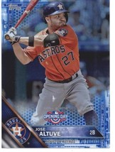 2016 Topps Opening Day Blue Foil #147 Jose Altuve Astros NM-MT - $5.00