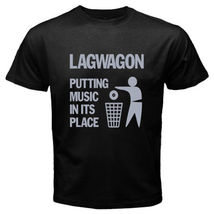 LAGWAGON Putting Music in It's Place Rock Band Black T shirt Tees Size S... - $19.99+