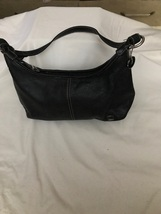 The Sac Black Leather Hobo - $40.00