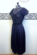 1980's Pin Up Lace Teddy Body Suit by Gloria Vanderbilt, Size Medium, Vi... - $34.99
