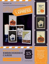 Anita Goodesign Express Halloween Embroidered Cards Embroidery CD (CD ONLY) - $10.39