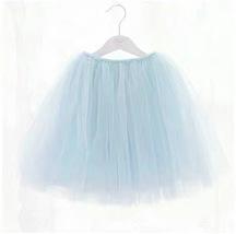 Mint Green Flower girl Tutu Skirts Girl Mini Skirts Baby Tutus- Elastic Waist image 6