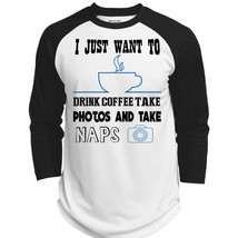 I Just Want To Drink Coffee Take Photos Shirt, My Job T Shirt  (Polyester Game B - $34.99+