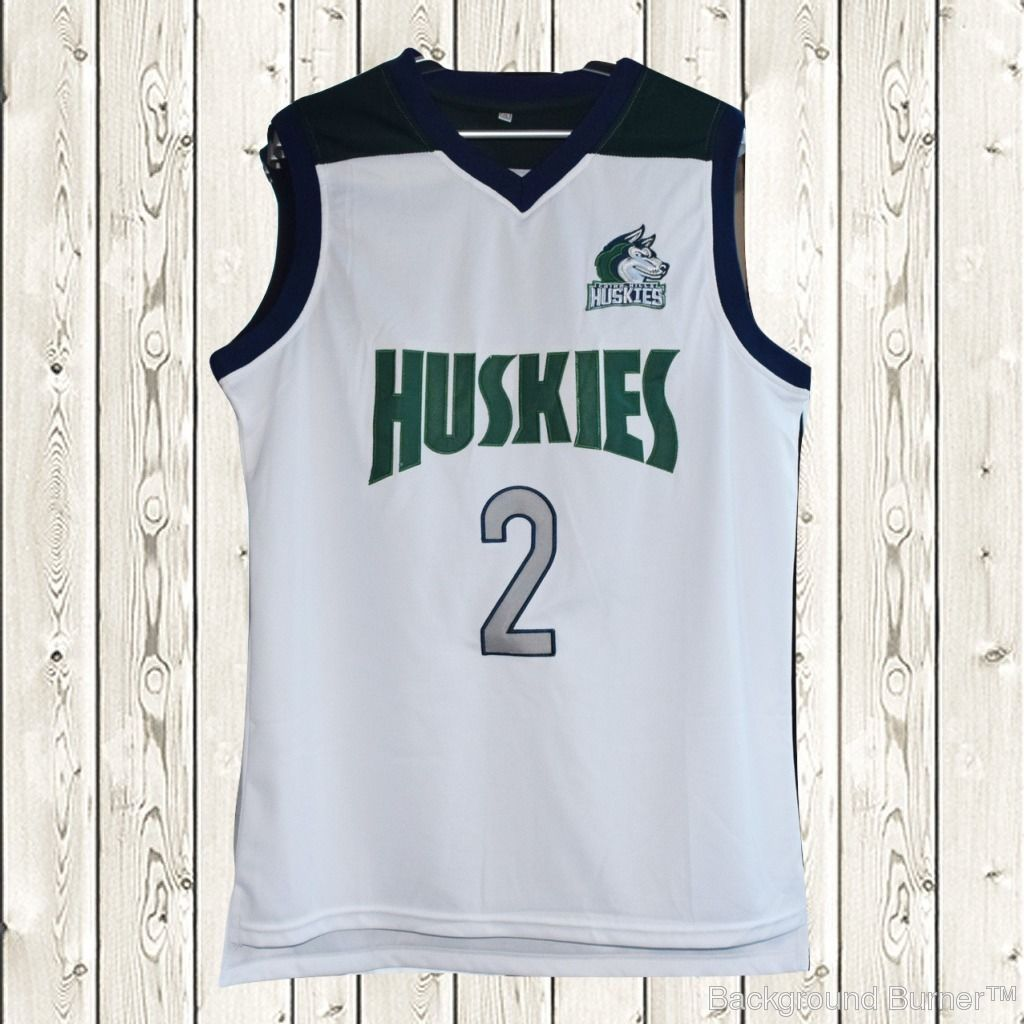 d3b719a22 S l1600. S l1600. Previous. Lonzo Ball  2 Huskies Basketball Stitched Jersey  High School Throwback White