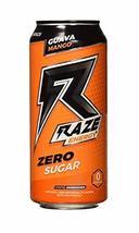 Raze Energy Drinks 6 Cans (Guava Mango) - $26.45
