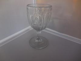 "RAPG Water Goblet ""Grape & Magnet"" ca 1860s - $18.00"