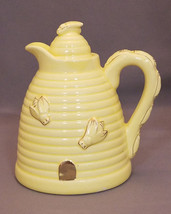 Vintage Yellow Beehive Honey Pot, Made in U.S.A. (circa 1960s) - $20.00