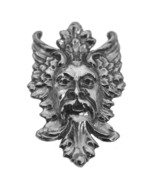 Large Nature Leaves Tree God Pendant Charm Greenman Sterling Silver 925 ... - $68.17
