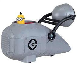 Despicable Me 3 GRU'S VEHICLE with Minion Toy Figure - NEW ~ Fun Gift! - $9.94
