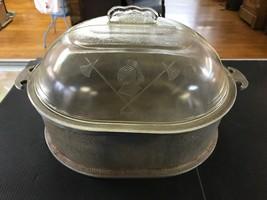 "Guardian Service Ware Aluminum 12.5 X10"" Oval Roasting Baking Casserole ... - $43.53"