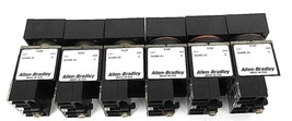 LOT OF 6 ALLEN BRADLEY 800MB-XO SER. A OPERATOR FOR PUSHBUTTON SWITCHES 800M-XD1