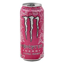 Monster Energy Ultra Zero Sugar Energy Drinks 16 ounce cans (Ultra Rosa,... - $26.72