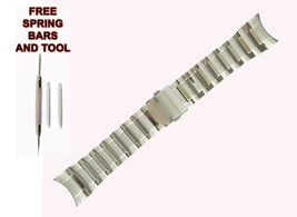 26mm Silver Steel Watch Strap Bracelet For Seiko Lord SNDE67P1 519SKO - $58.41