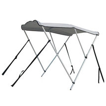 Portable Bimini Top Cover Canopy For Length 14 -16 ft Inflatable Boat (3 bow) image 1