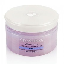 Obey Your Body EXFOLIATING Dead Sea Salt Body Scrub Paris  ObeyYourBody - $47.99