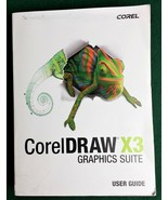 Corel Draw X3 Graphics Suite User Guide Paperback Book + Quick Reference... - $20.32