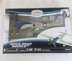 Testors Model P-51 Mustang 1:48 Quick-Build 890001N - $19.69