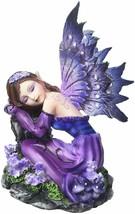 """Major-Q G8091590 4.5"""" Blue Fairy Napping Statue Figurine Home Decor Scul... - $24.67"""