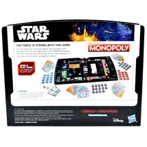 Hasbro B8613 Gaming Monopoly Star Wars Open & Play Board Game 100% Complete image 2