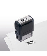 Paid Stock Title Stamp  - $12.50