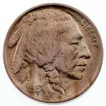 1913 Type 1 Buffalo Nickel 5C Choice BU Condition, Excellent Eye Appeal - $54.45