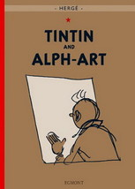 Tintin and Alph-art hardcover book