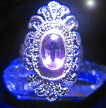 HAUNTED ANTIQUE RING  700X HIGHEST CROWN OFFERS ONLY MAGICK 925 7 SCHOLARS - $89,007.77