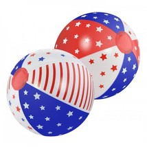 Patriotic Beach Ball Set Of 2 - £16.12 GBP