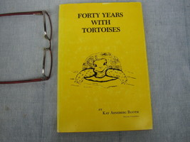 40 Years with Tortoises Turtles Study resource Book ESP Animal Empathy 1980 - $21.61