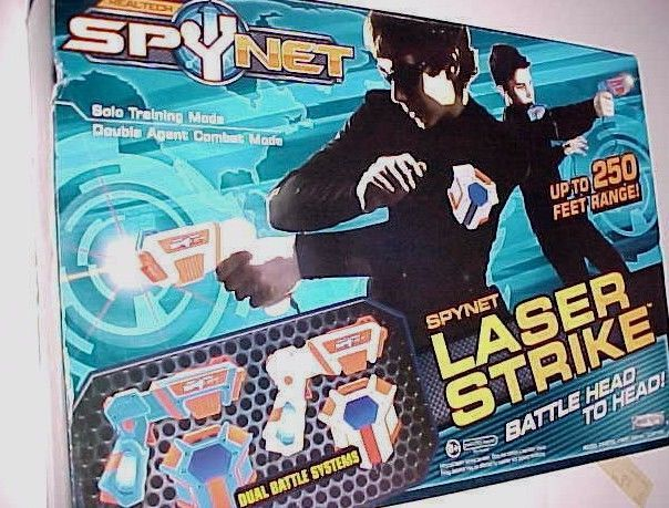 Primary image for Spy Net Laser Strike Dueling System Real Tech Jakks Pacific 2010 New NIB