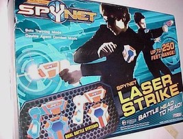 Spy Net Laser Strike Dueling System Real Tech Jakks Pacific 2010 New NIB - $69.29