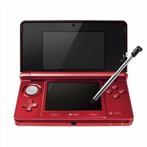 Nintendo 3DS Console System Flare Red End of Production From Japan New - $287.09