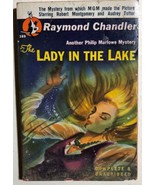 THE LADY IN THE LAKE by Raymond Chandler (1947) Pocket Books mystery pb - $14.84