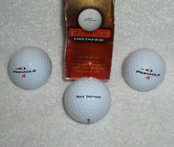 PINNACLE Gold Distance White Golf Balls - $5.95