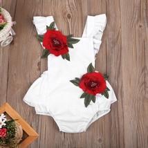 Newborn Kids Baby Girls Cotton Outfits Romper Jumpsuit Bodysuit Sunsuit ... - $17.50