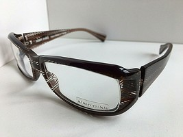 New Vintage ALAIN MIKLI AL10040001 56mm Rectangular Eyeglasses Frame  - $275.99