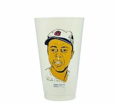 Hank Aaron vtg cup 7 eleven 11 Atlanta Braves amoco plastic mug HOF memo... - $29.65