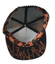 Iron Fist Black Year Of The Cat Trucker Snapback Baseball Hat Cap Pussycat NWT image 7