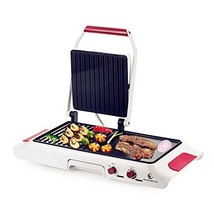 E EVERKING 1600W Electric Grill Griddle, Adjustable Temperature Searing ... - £32.62 GBP