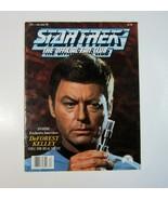 Star Trek Official Fan Club Magazine #71 - Dec/Jan 1989 - DeForest Kelle... - $13.99
